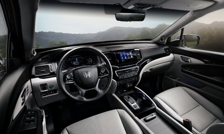 2021 Honda Pilot Interior Dashboard View