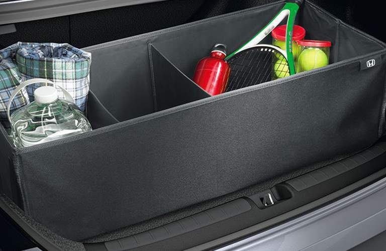In trunk storage of the 2018 Honda Accord Sedan