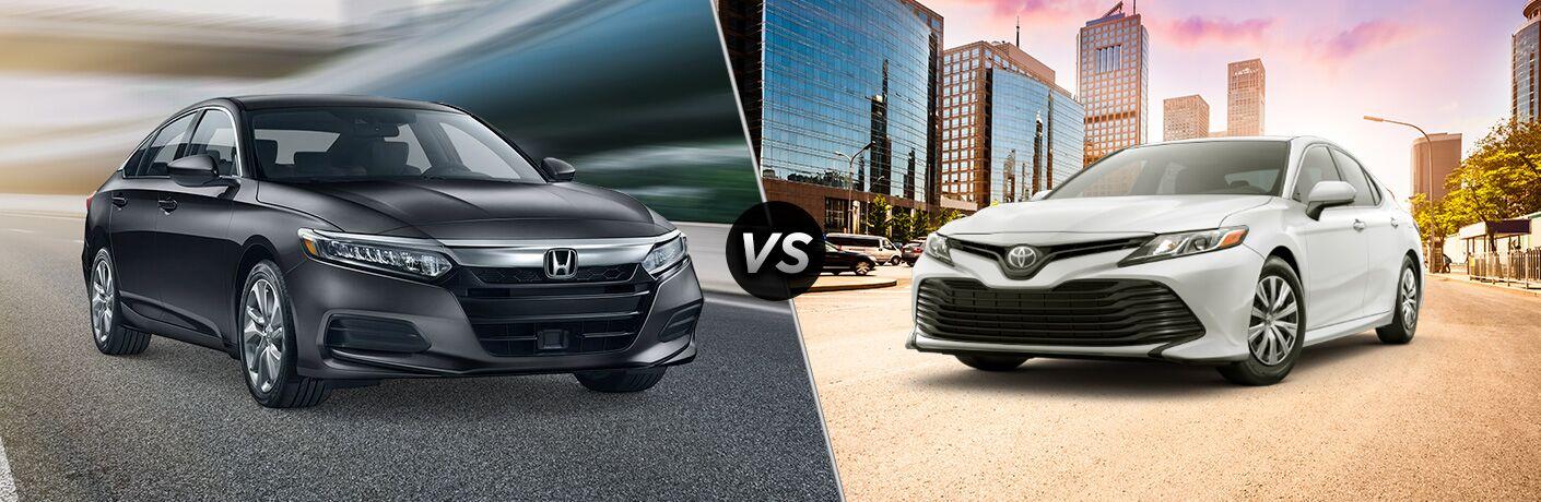 2019 Honda Accord vs 2019 Toyota Camry