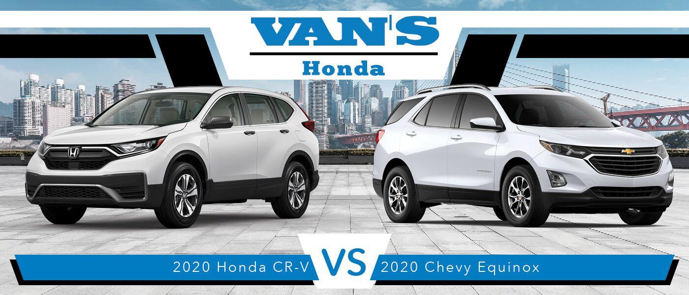 2020 Honda CR-V vs Chevy Equinox