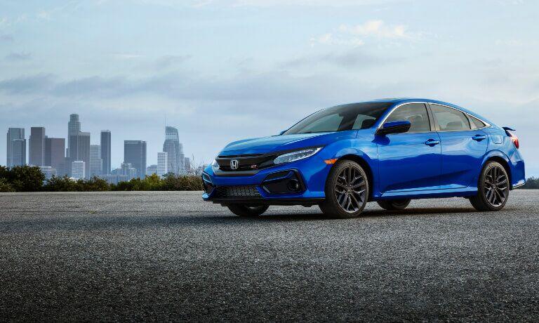 2020 Honda Civic exterior side view
