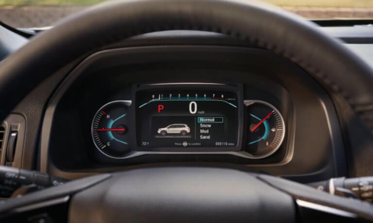 2021 Honda Passport interior dashboard