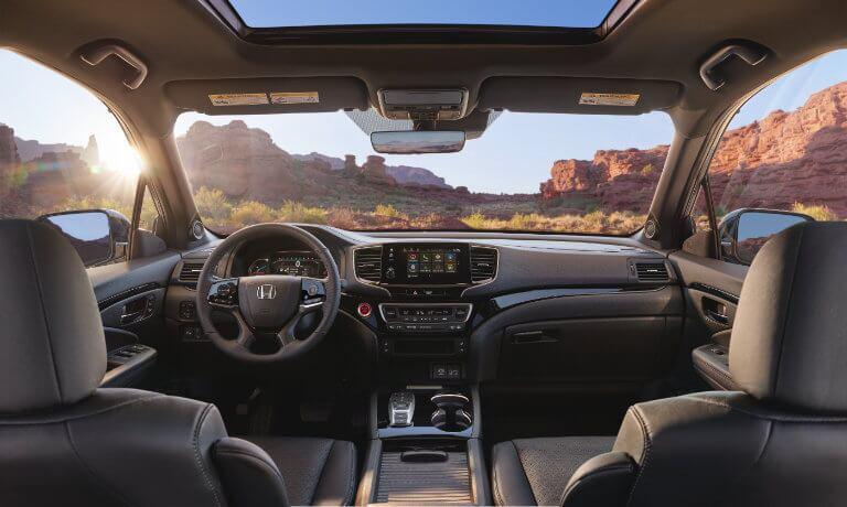 2021 Honda Passport interior front view