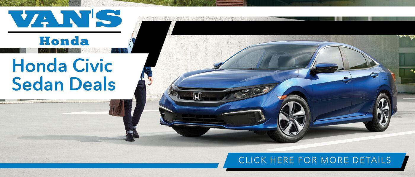 2020 Honda Civic Deals banner