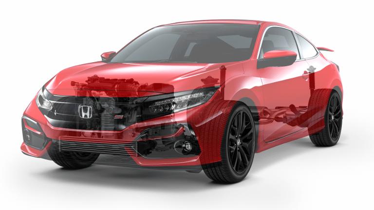 2020 Honda Civic Si Engine