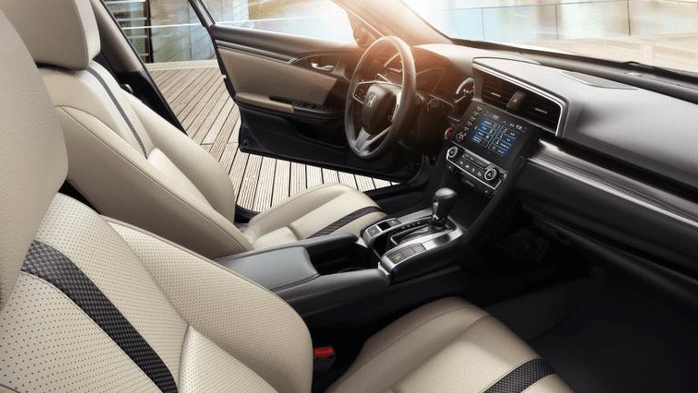 2020 Honda Civic interior seating