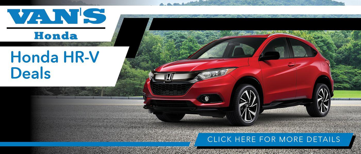 2020 Honda HR-V Deals banner