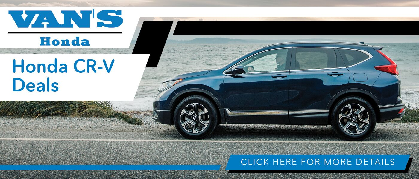 2020 Honda CR-V Deals banner