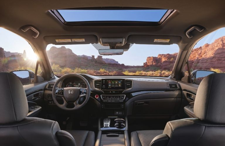 Interior of 2020 Honda Passport
