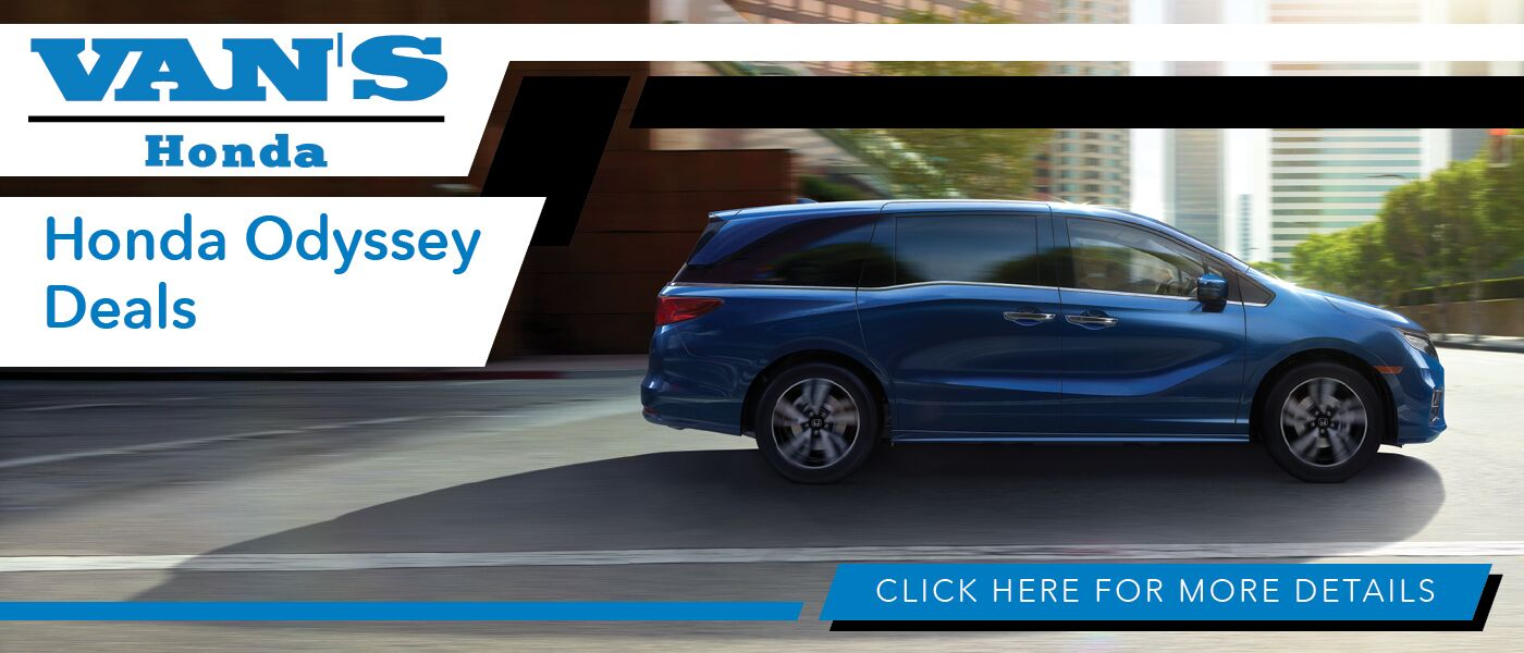 2020 Honda Odyssey Deals banner