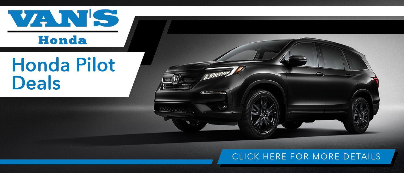 2020 Honda Pilot Deals banner