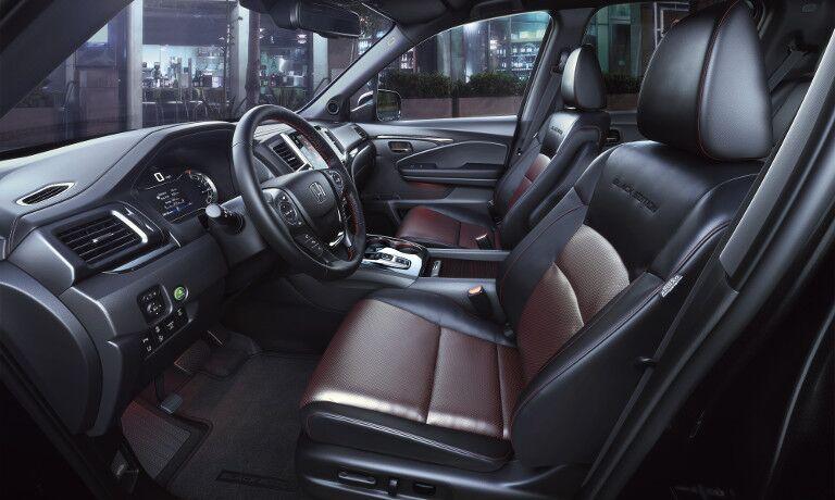 2020 Honda Ridgeline interior seating