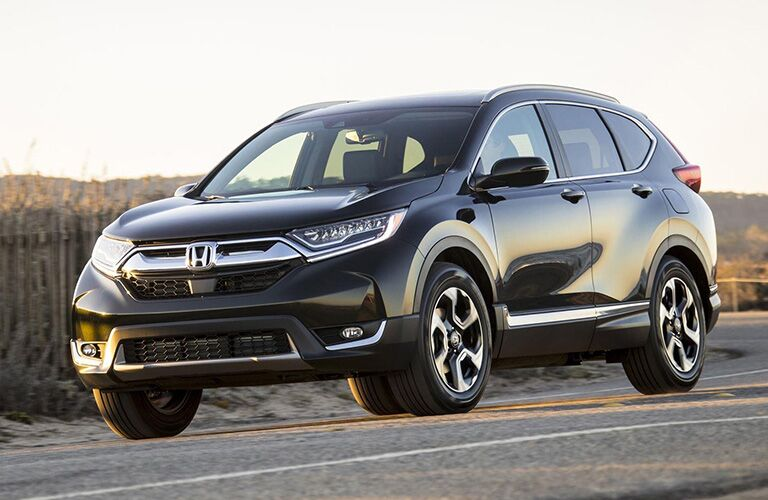 2019 Honda CR-V on the road