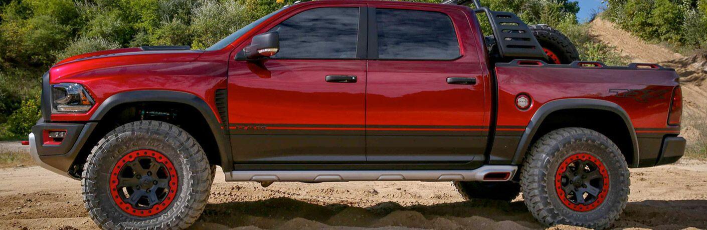 2017 RAM 1500 Rebel side exterior