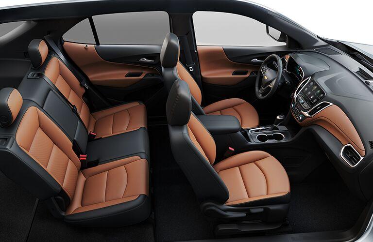 brown seats in chevrolet equinox