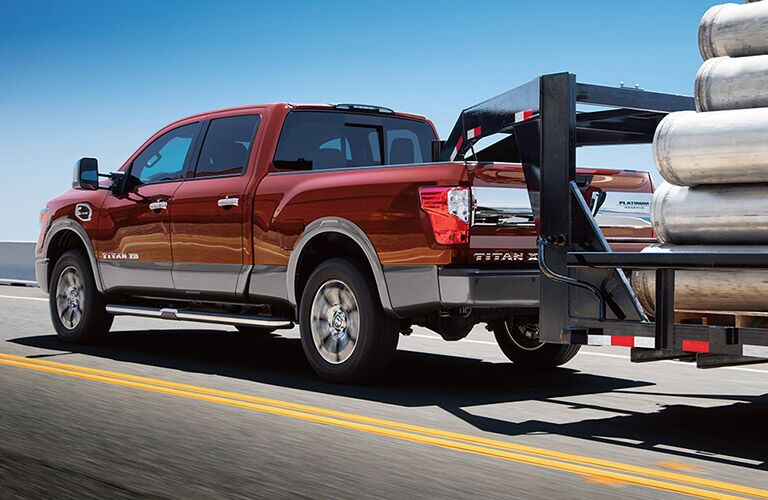 2017 Nissan Nissan Titan XD towing boat