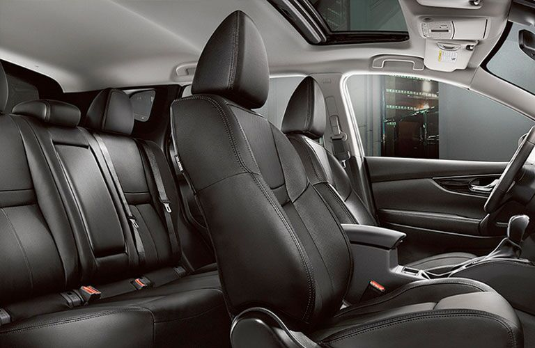 2018 Nissan Qashqai interior seats