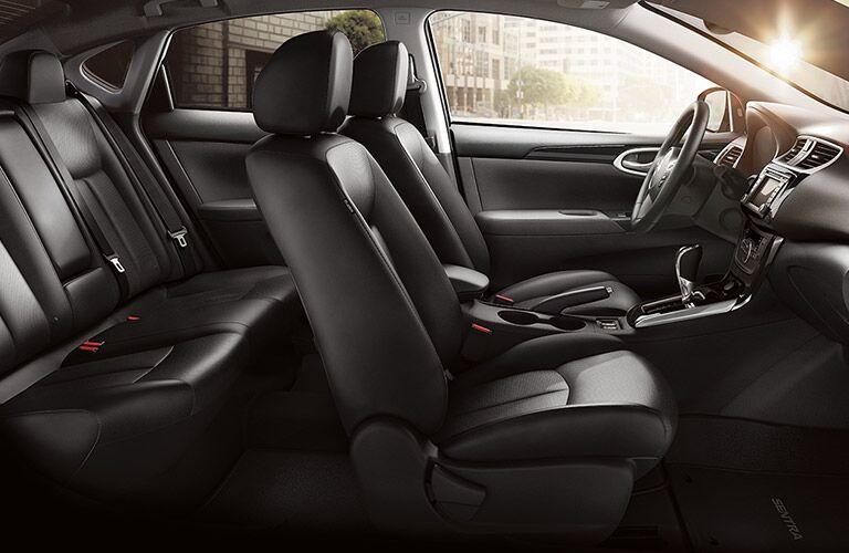 2018 Nissan Sentra interior seats