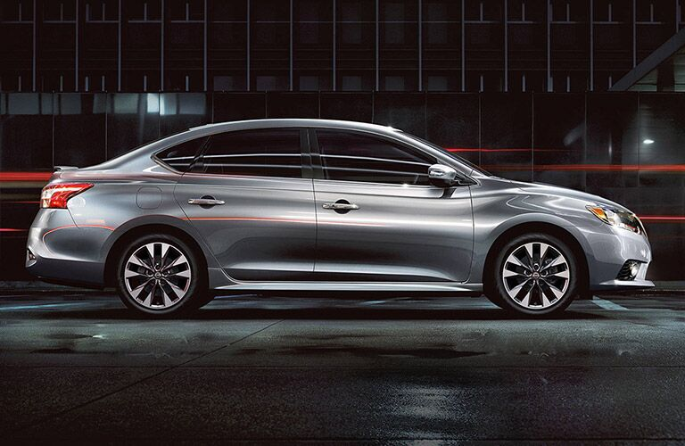 2018 Nissan Sentra exterior side silver