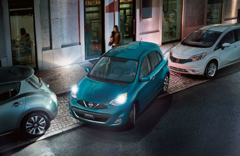 2018 Nissan Micra parallel parking