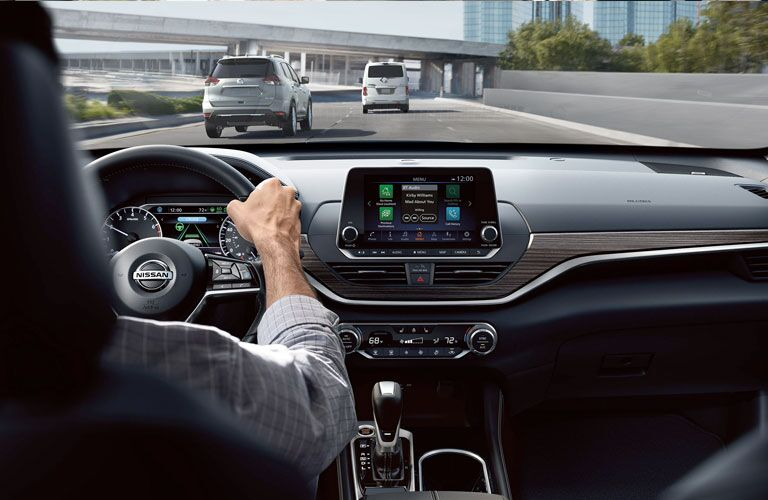 2020 Nissan Altima view out front window