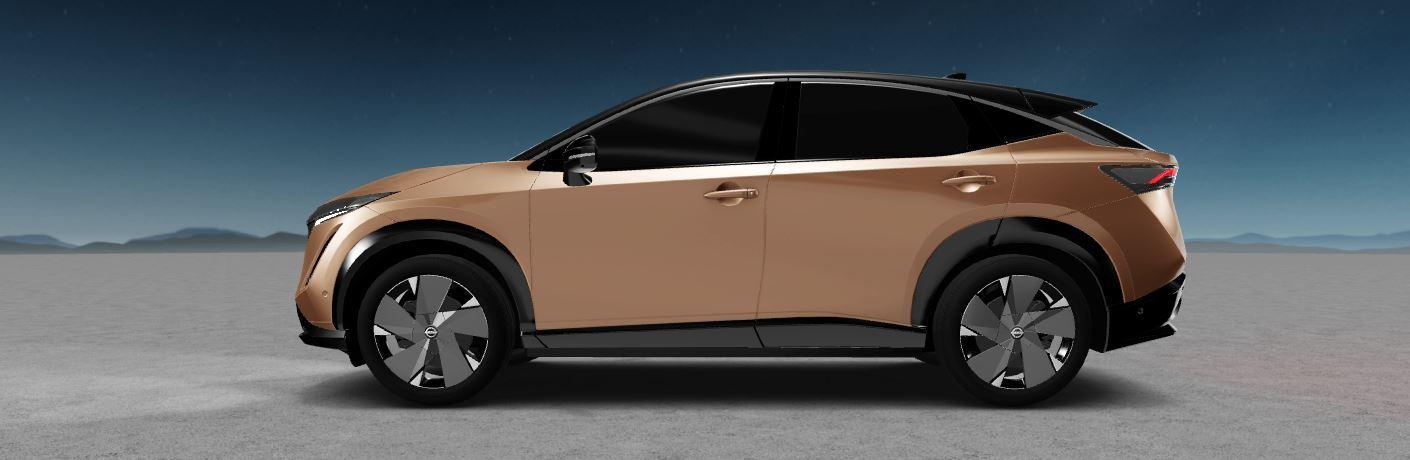 Nissan Ariya side view