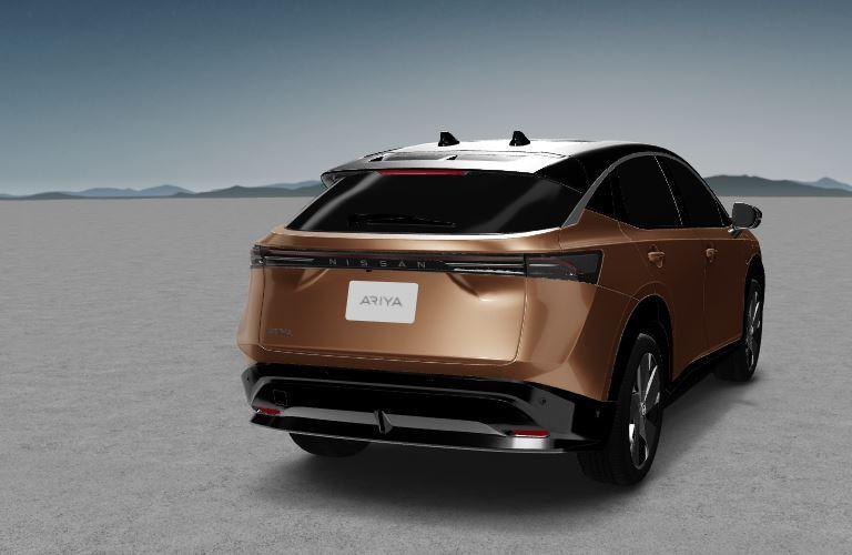 Nissan Ariya rear side view