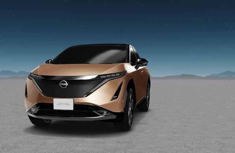 Nissan Ariya front view