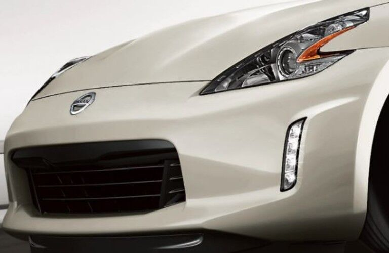 front of a white 2020 Nissan 370Z Roadster