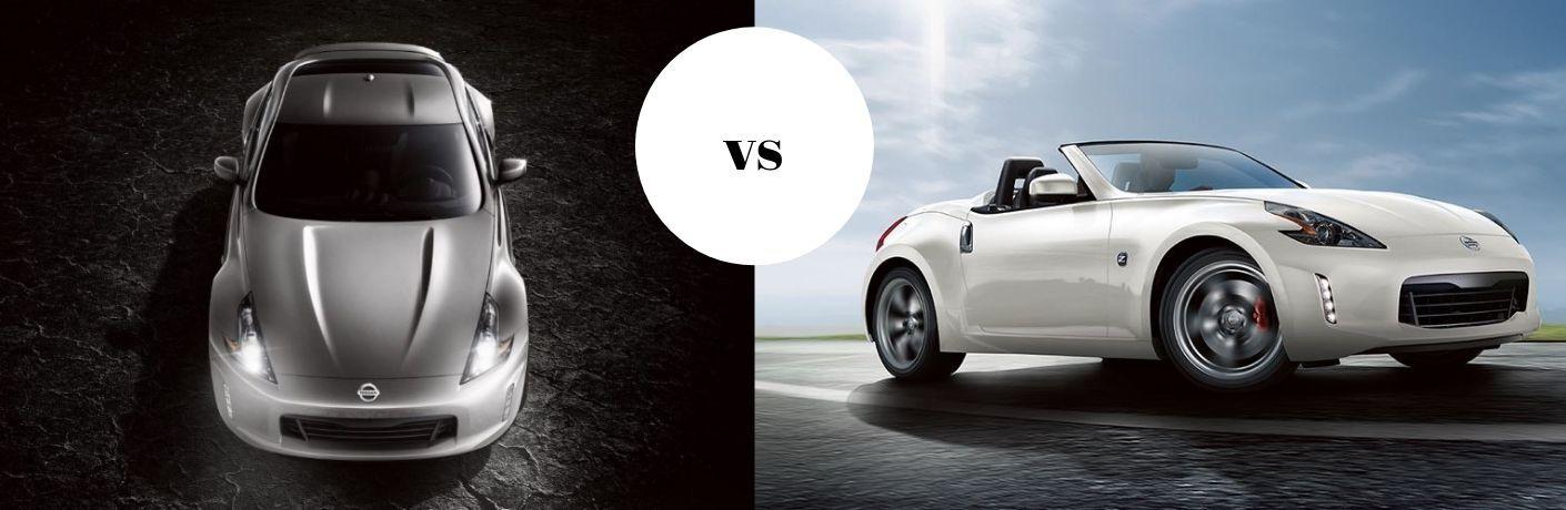 2020 Nissan 370Z Coupe vs 2020 Nissan 370Z Roadster