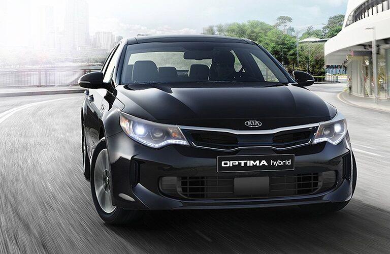 Kia Optima hybrid sedan