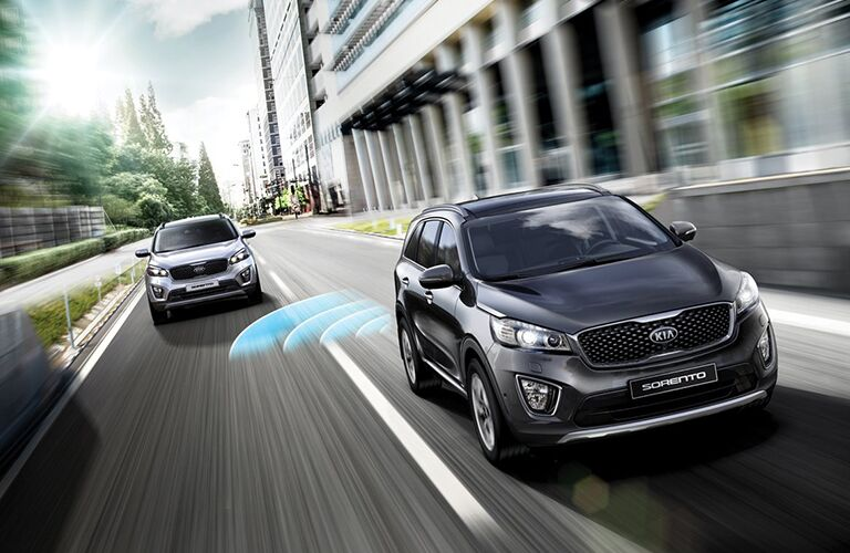 2018 Kia Sorento with advanced safety features
