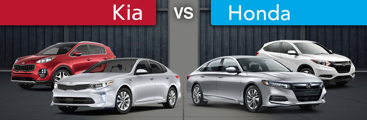 Kia vs Honda Model Comparisons