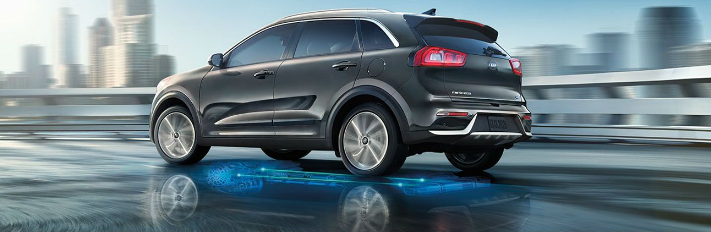 2018 Kia Niro with a full-parallel hybrid system