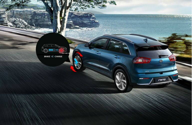 2018 Kia Niro with regenerative braking