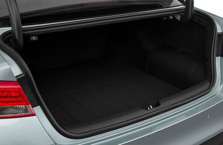 2018 Kia Optima available cargo space