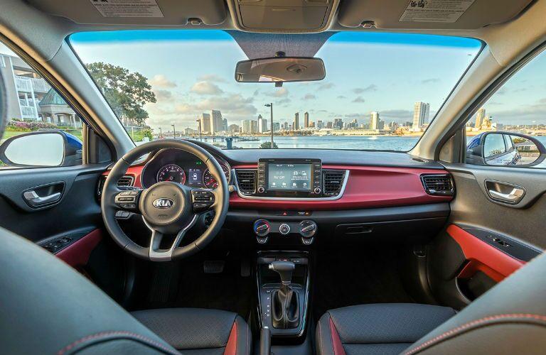 2018 Kia Rio front interior