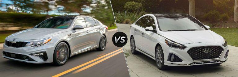 2019 Kia Optima vs. 2019 Hyundai Sonata
