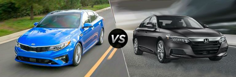 2019 Kia Optima vs. 2019 Honda Accord