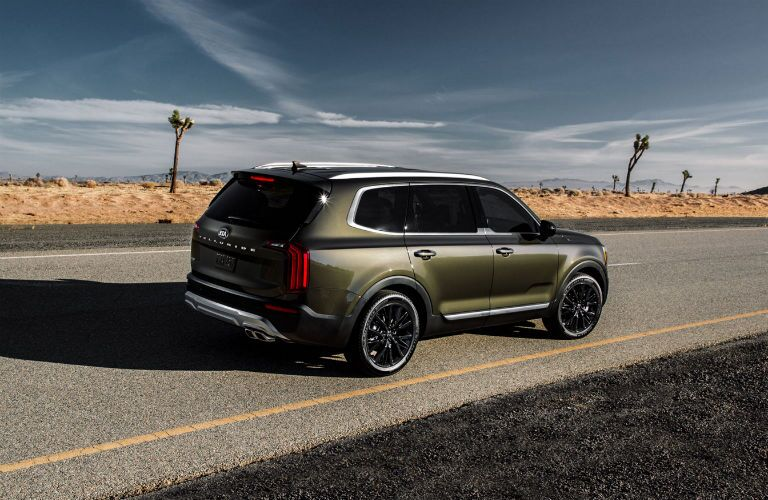2020 Kia Telluride on the road