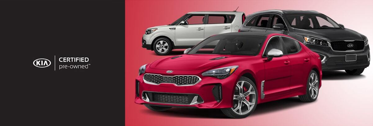 2018 Kia Certified Pre-Owned Cars & SUVs