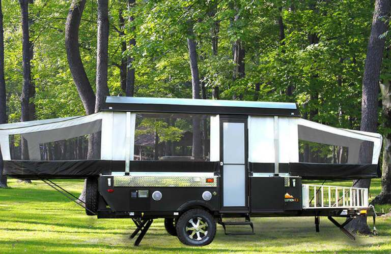 Somerset camping trailer exterior side