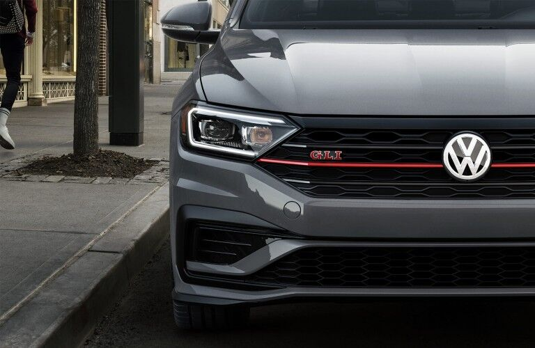 front view of the 2020 Volkswagen Jetta GLI