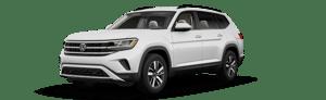 white 2021 Volkswagen Atlas SE