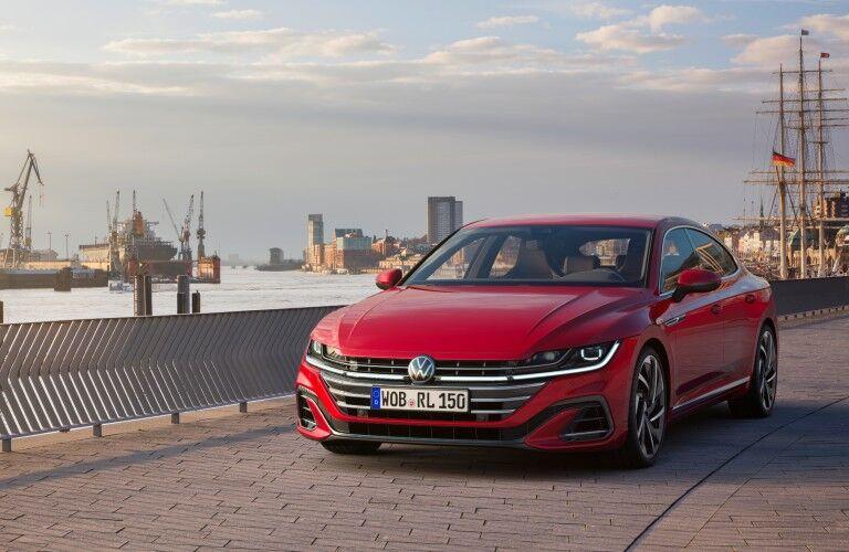 front view of the 2021 Volkswagen Arteon