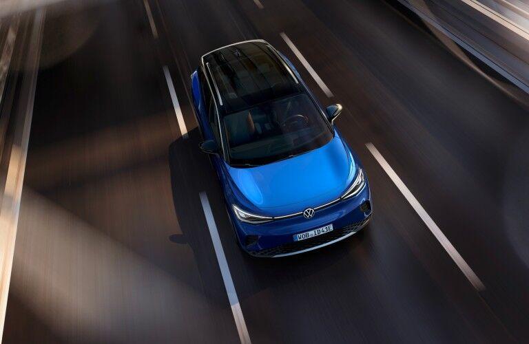 top view of the 2021 Volkswagen ID.4