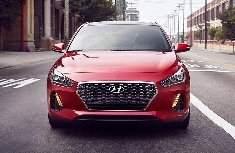 2018 Hyundai Elantra exterior front red