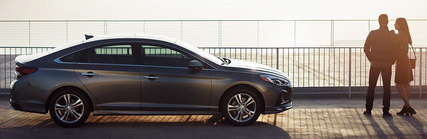 2018 Hyundai Sonata side exterior