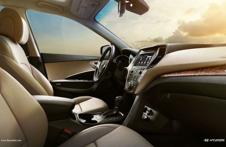 2018 Hyundai Santa Fe Sport interior front seats
