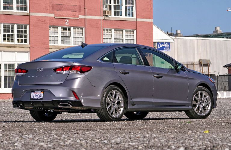 2018 Hyundai Sonata back exterior